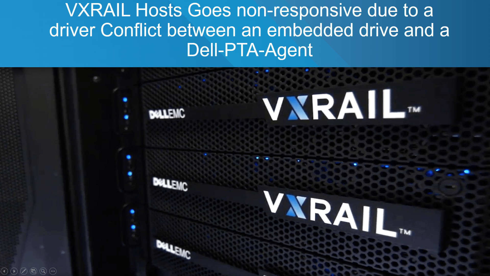 VXRAIL hosts going non-responsive due to a plugin conflict